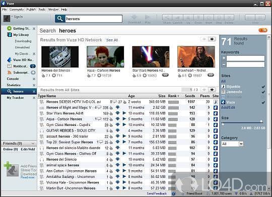 Vuze templates lo4d vuze screenshot maxwellsz