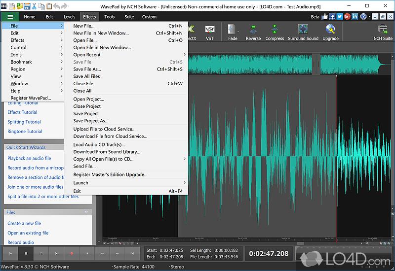 Vocal Wavepad Audio Editor