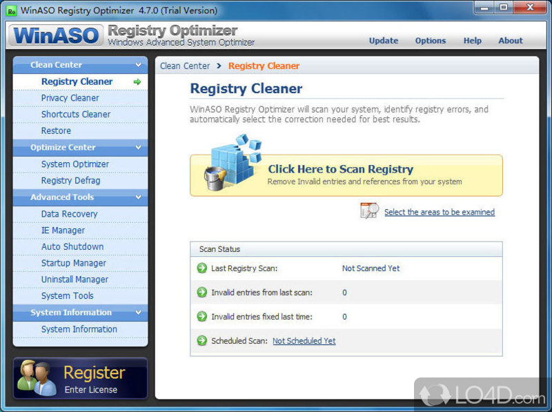 winzip registry optimizer key code