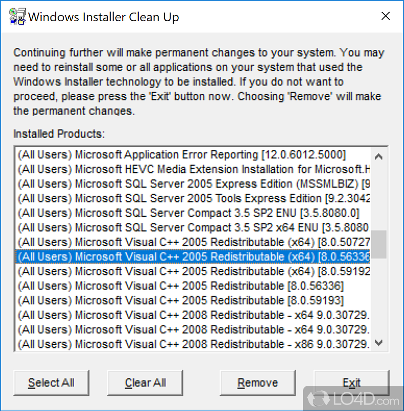 WINDOWS INSTALLER EXE TÉLÉCHARGER CLEANUP MSICUU2