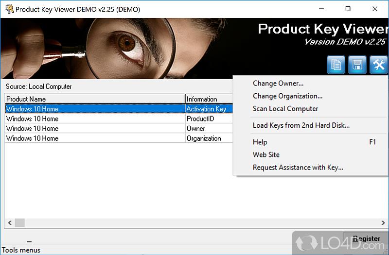 xp key changer software