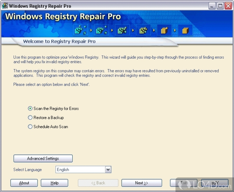 3b software windows registry repair pro 4.0