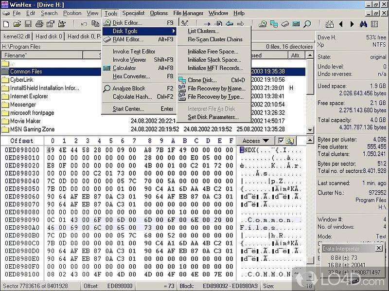 Скачать бесплатно файл WINHEX_V11.7.SR-10 - CONTENTWAP.RU.