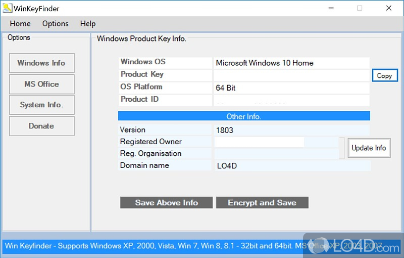 Softwares with serial key. Find Windows XP product keys - WinKeyFinder.