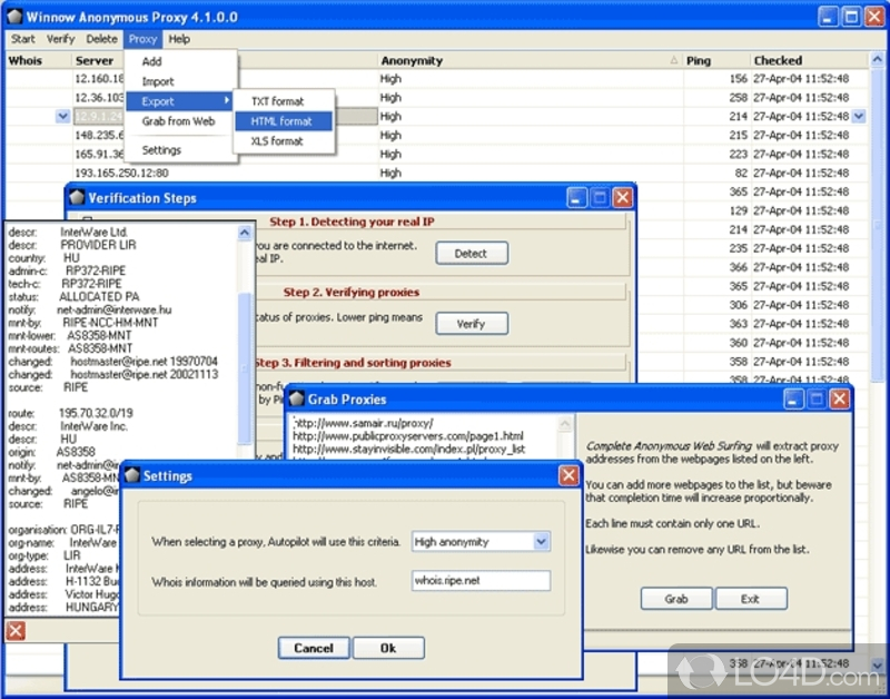 chrispc free anonymous proxy 4.1