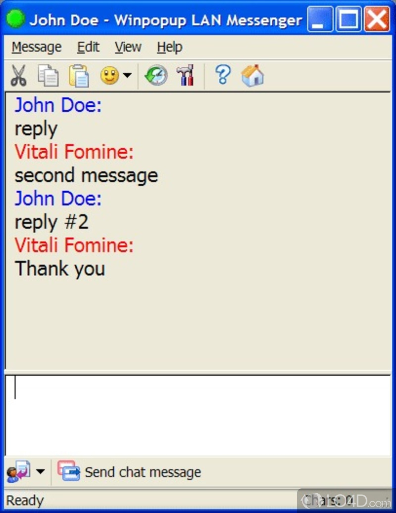 WatFile.com Download Free LAN Messenger - Download