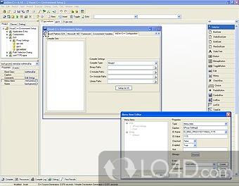Wxdev C Screenshots
