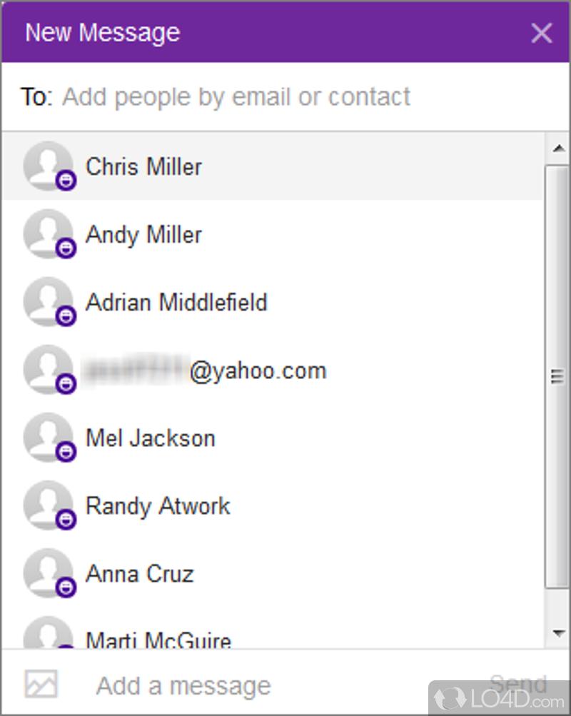 Yahoo messenger dating online
