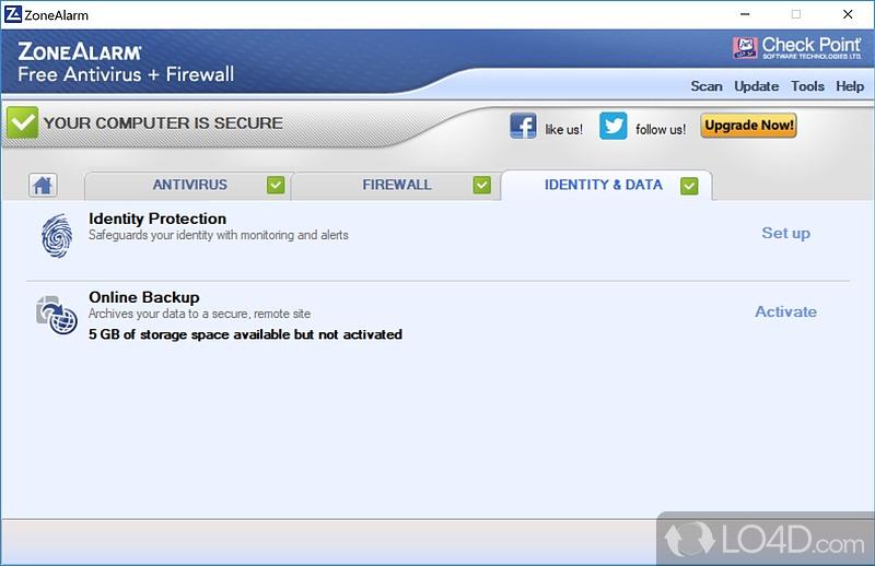 zonealarm privacy service