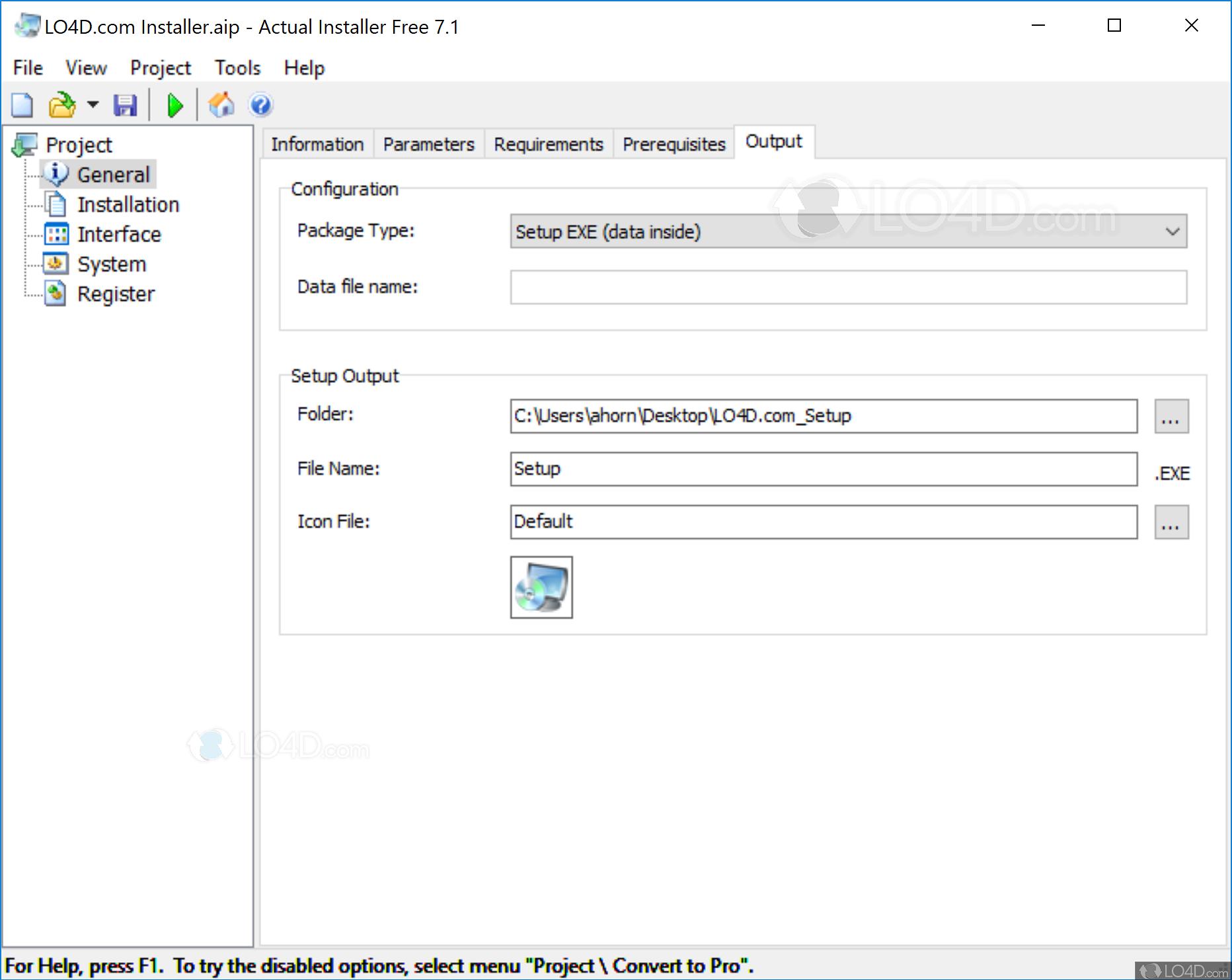 Actual Installer Free - Screenshots