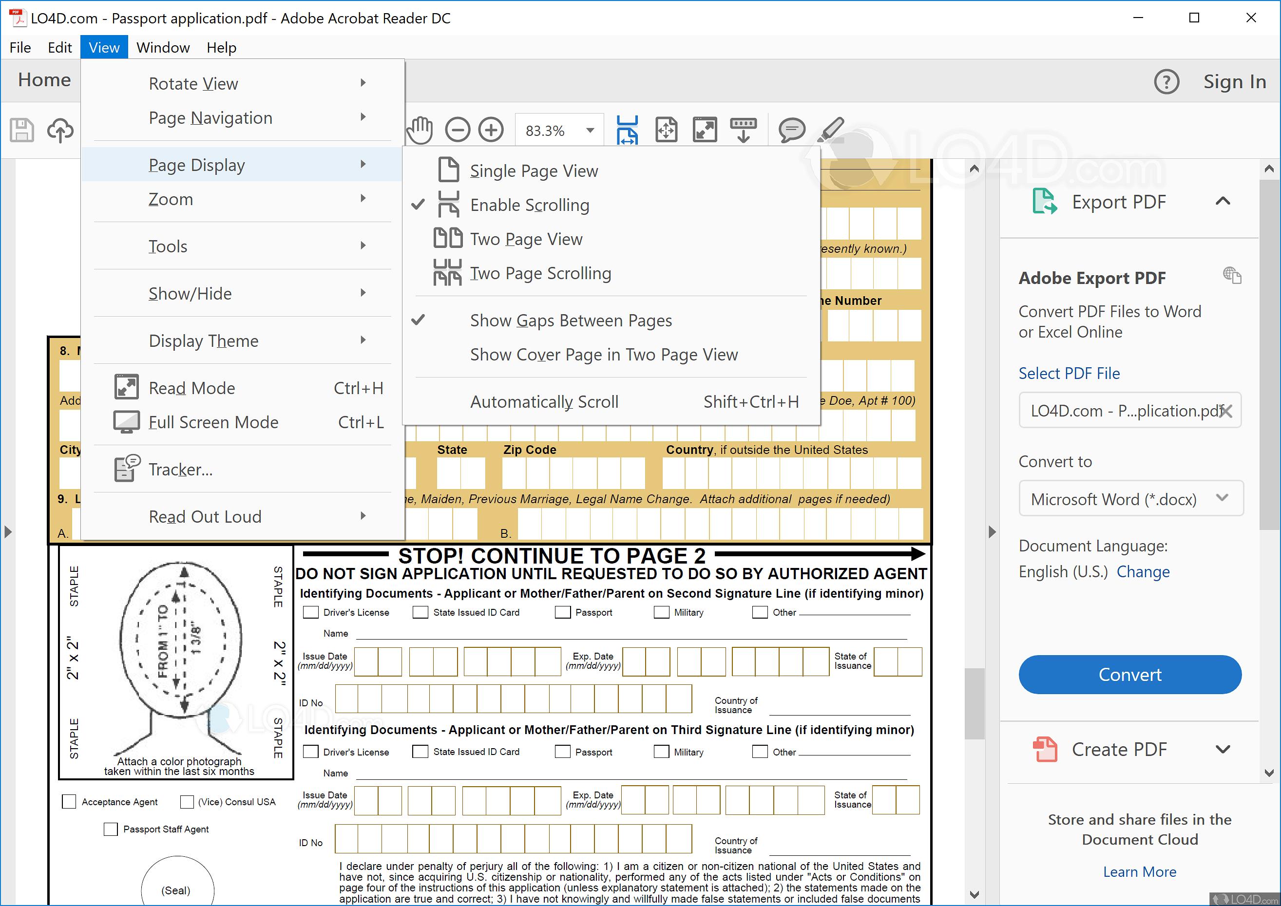 Installation d'Adobe Acrobat Reader DC pour toutes les versions