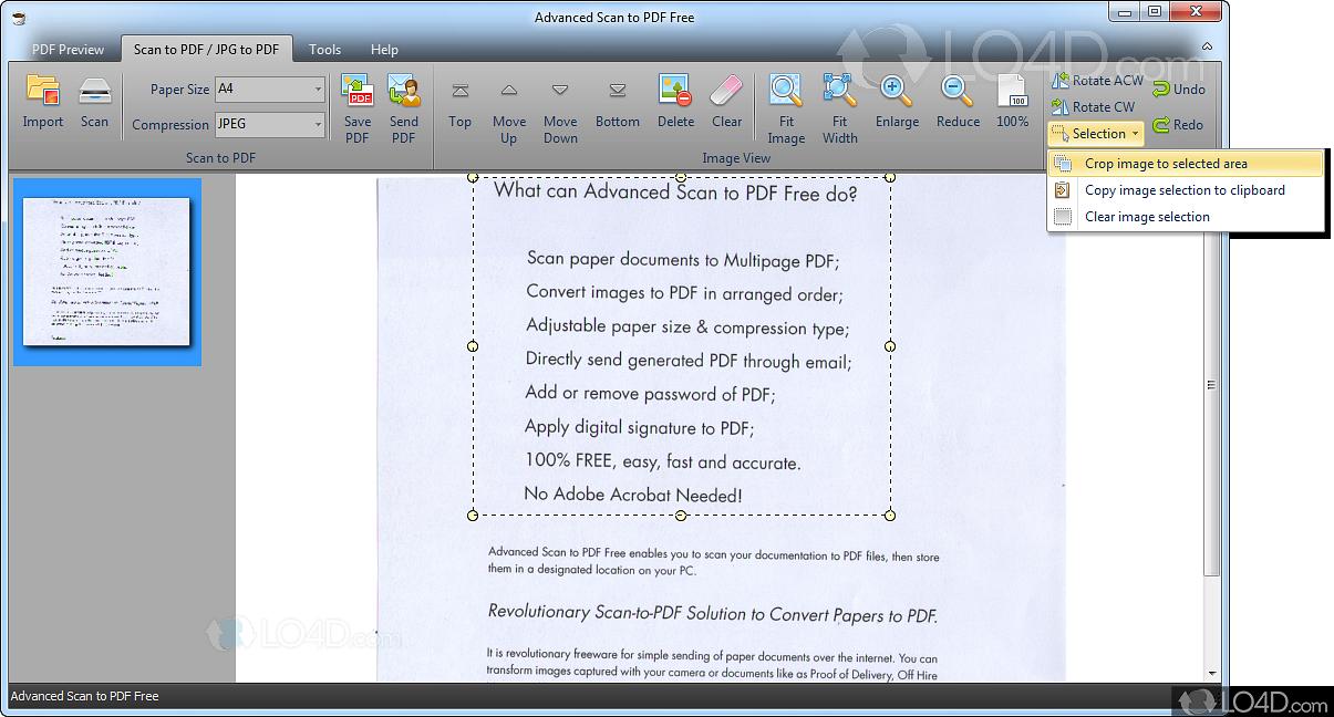 Advanced Scan To Pdf Free 4.0.7