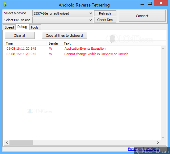 android reverse tethering 3.11