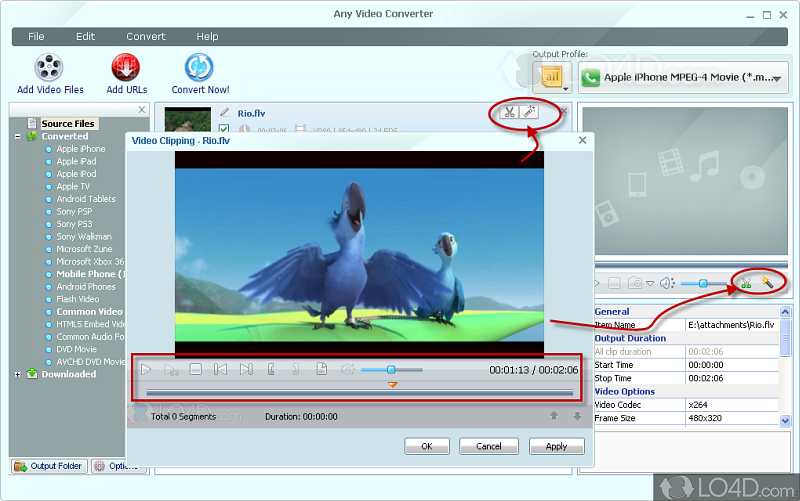 Any video Converter 4 7 Xp Free download Full version filehippo