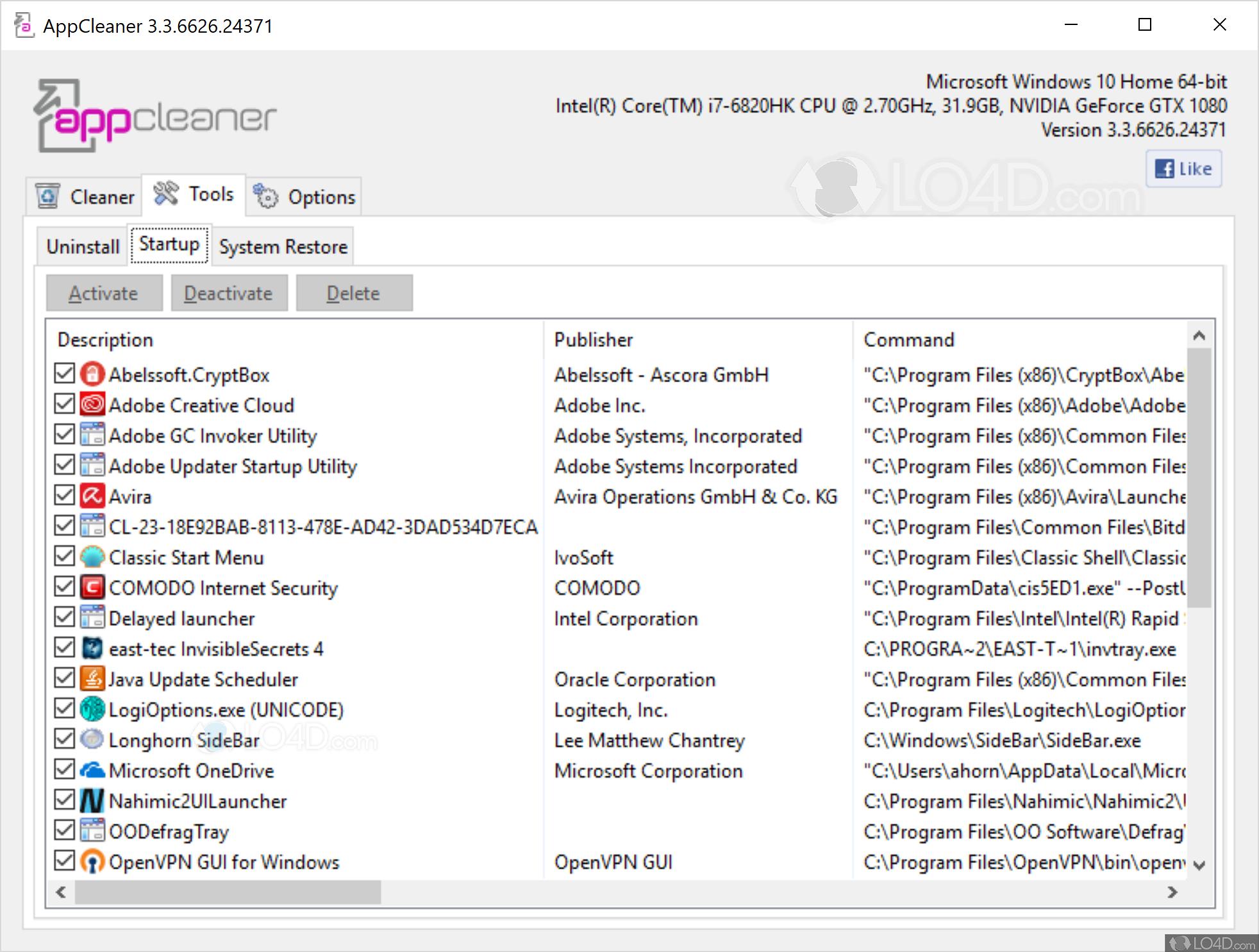 AppCleaner - Screenshots