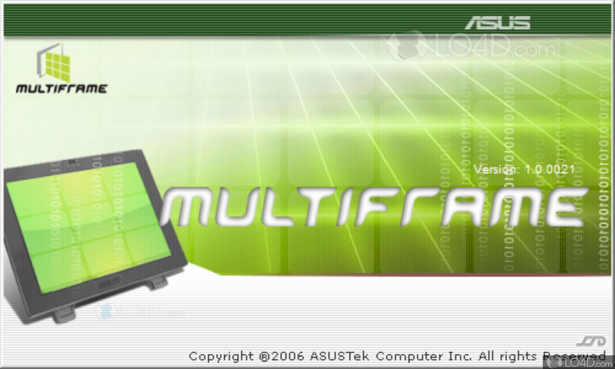 Asus MultiFrame Driver for Mac