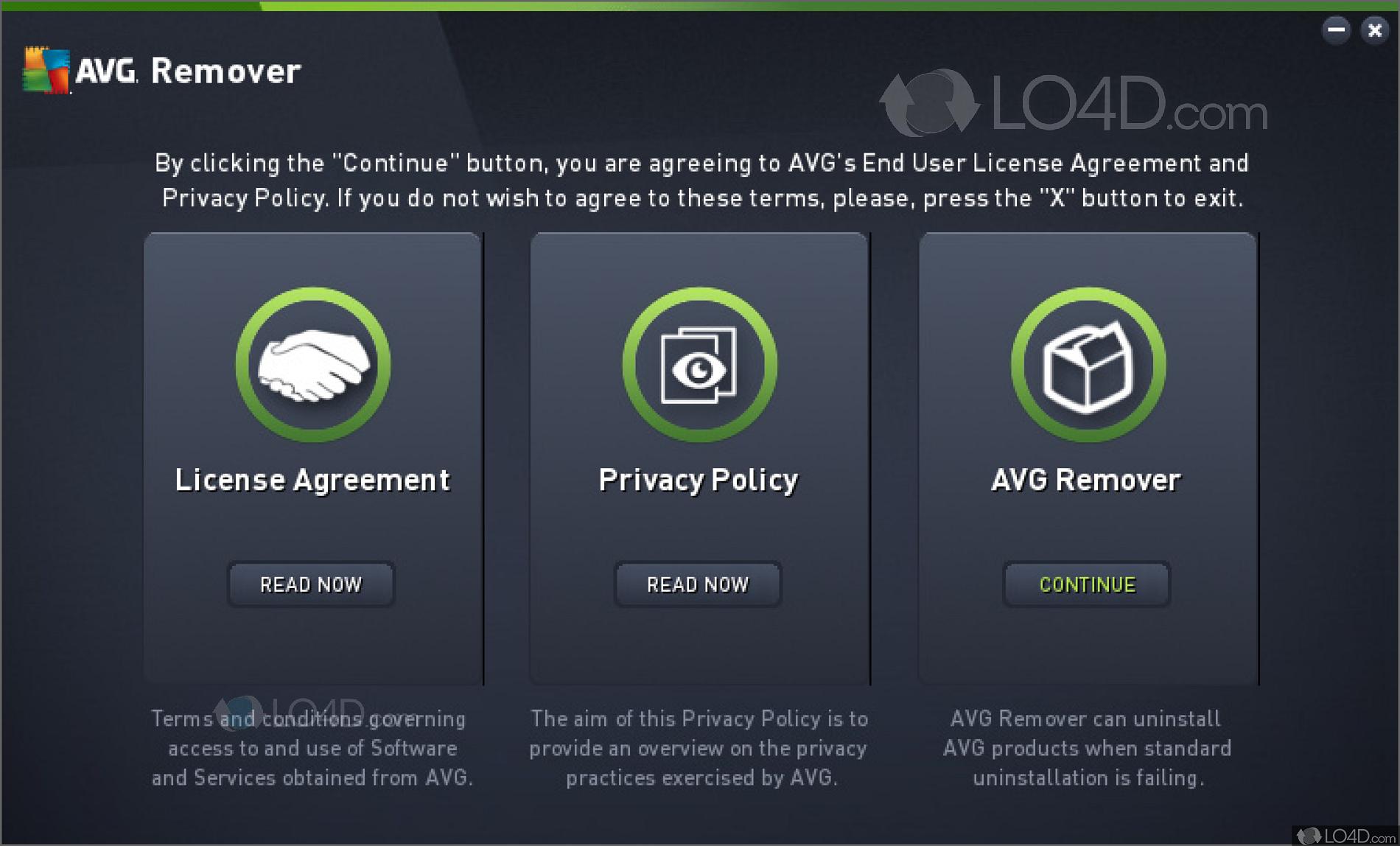 avg antivirus remover free download