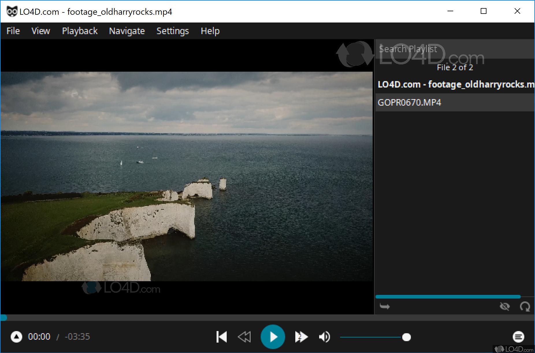 Baka MPlayer - Screenshots