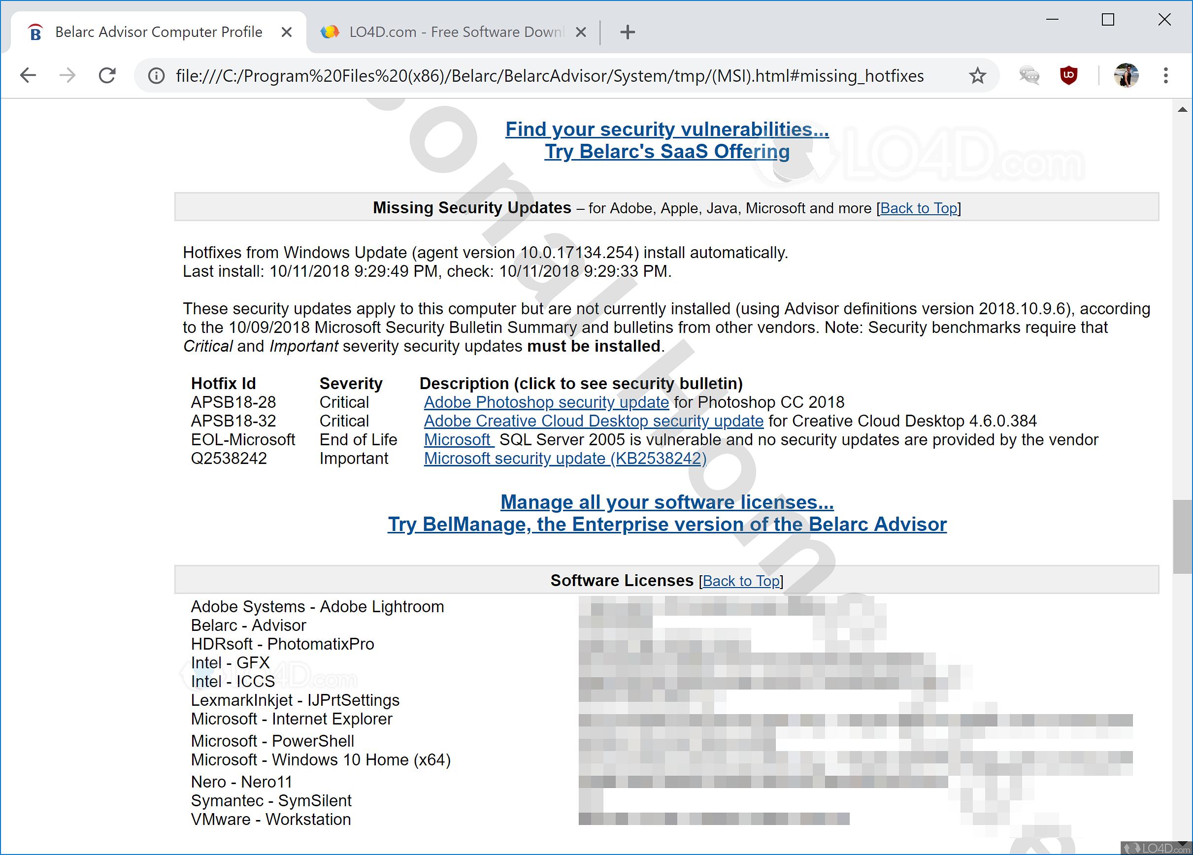belarc advisor v8.3 review and