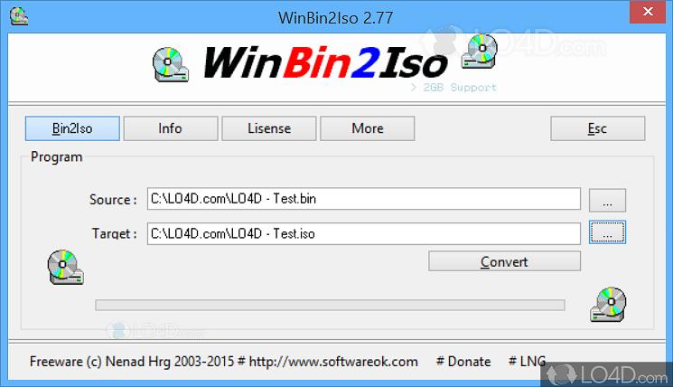 bin to iso converter free online