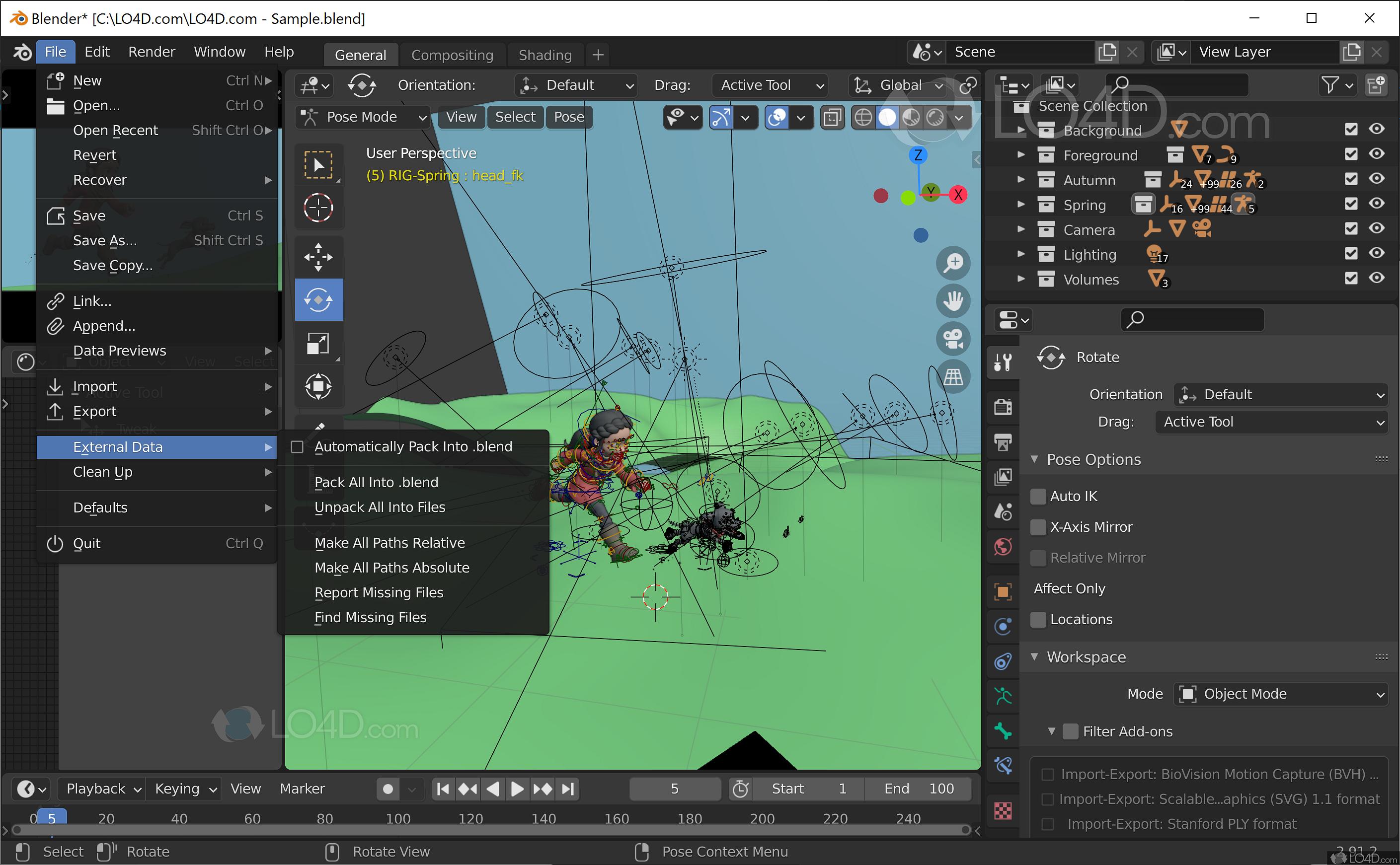 Blender - Screenshots
