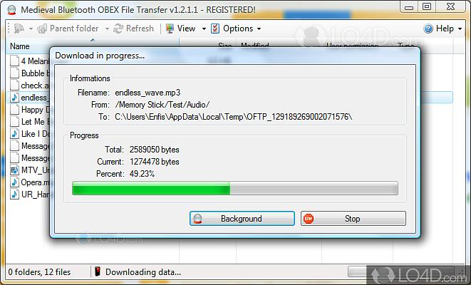 Bluetooth file transfer 1. 2. 1. 1 on filecart.