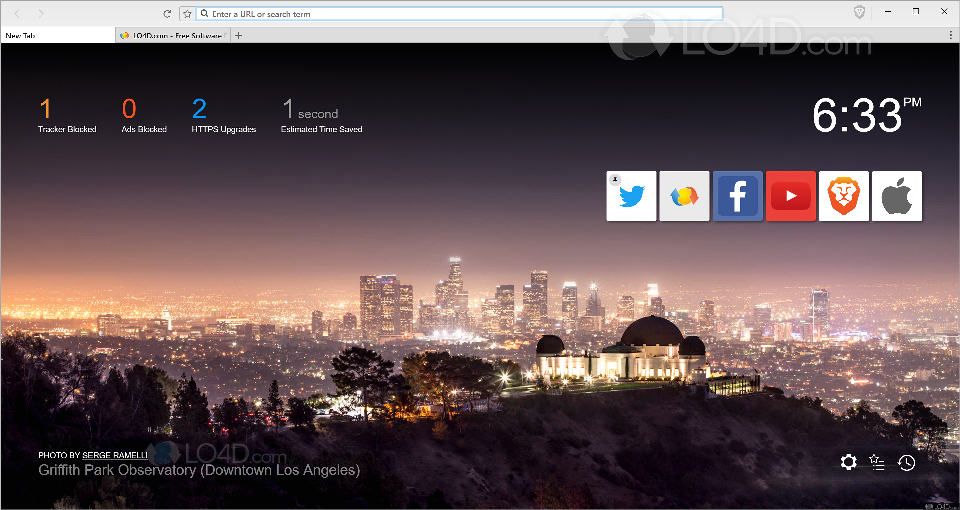 Brave Browser - Screenshots