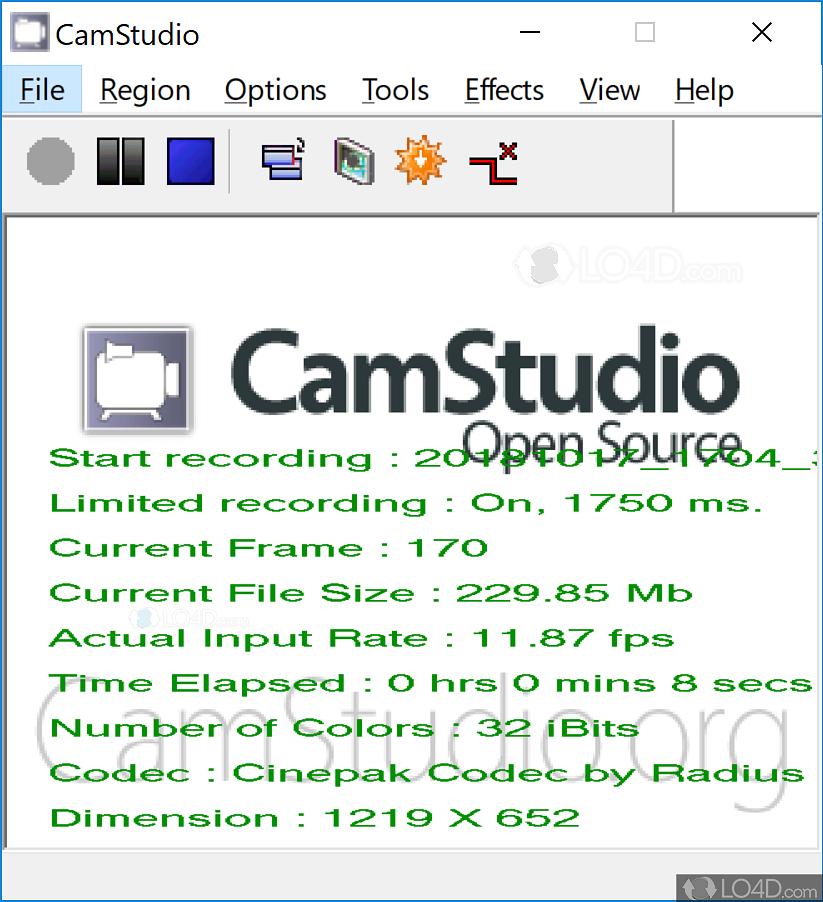 camstudio gratuit windows vista