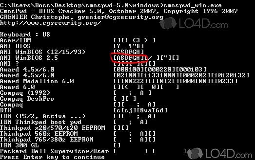 bios password cracker software free download