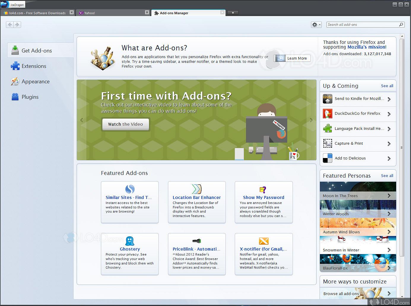 Comodo IceDragon portable - LO4D com