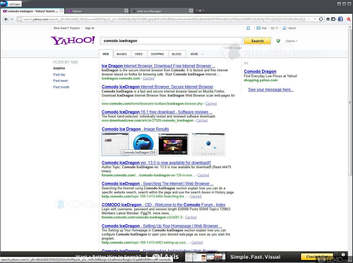 Comodo dragon browser download for xp