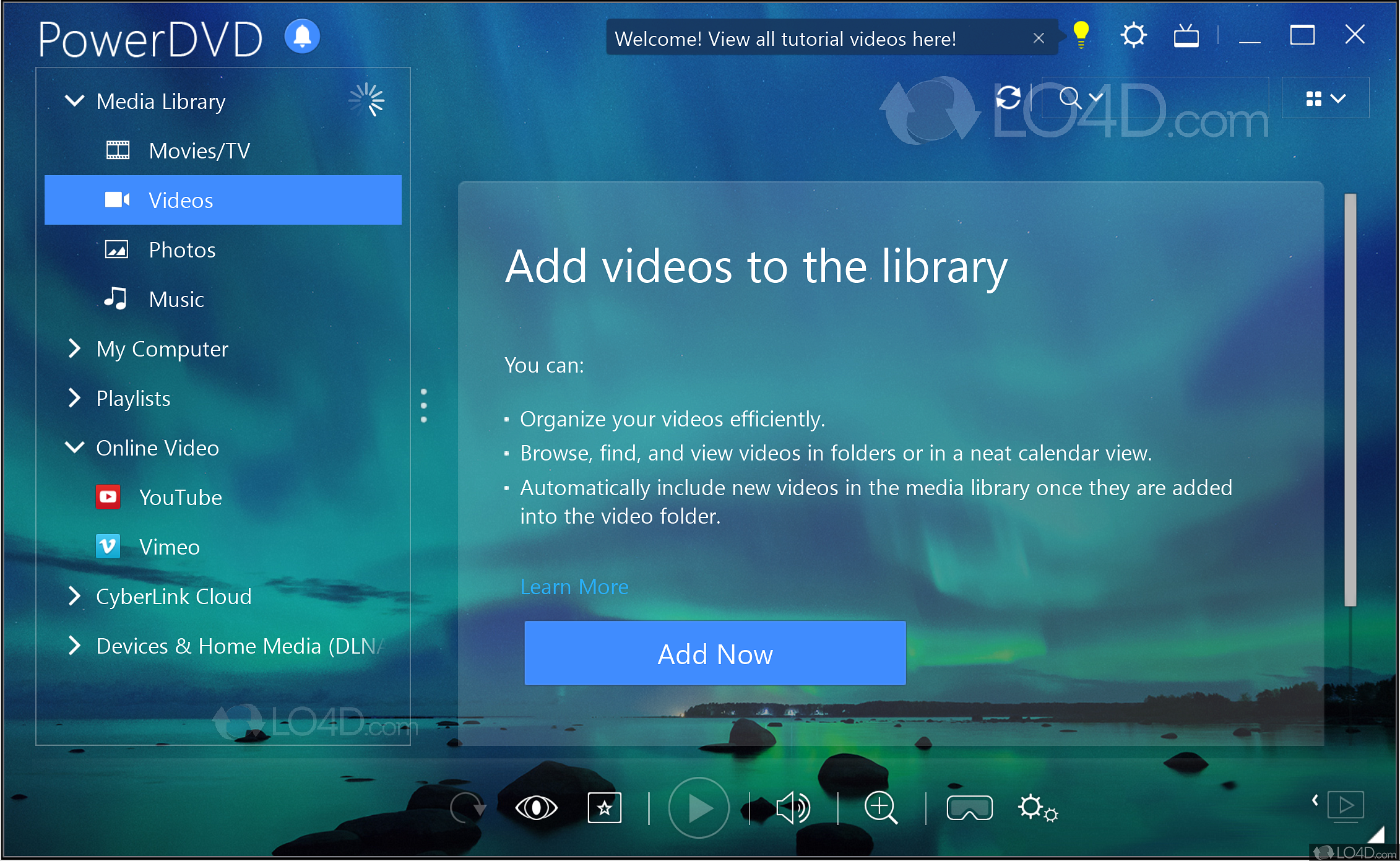 free download cyberlink dvd player for windows 10