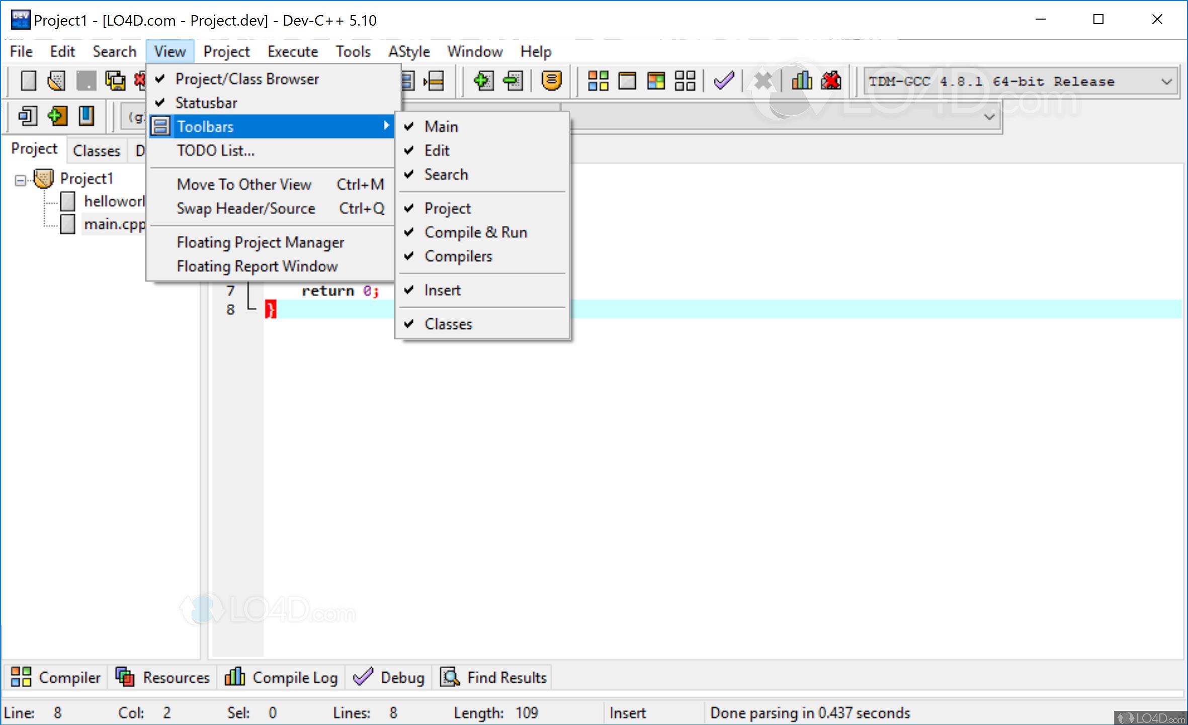 Bloodshed dev c++ for windows 7