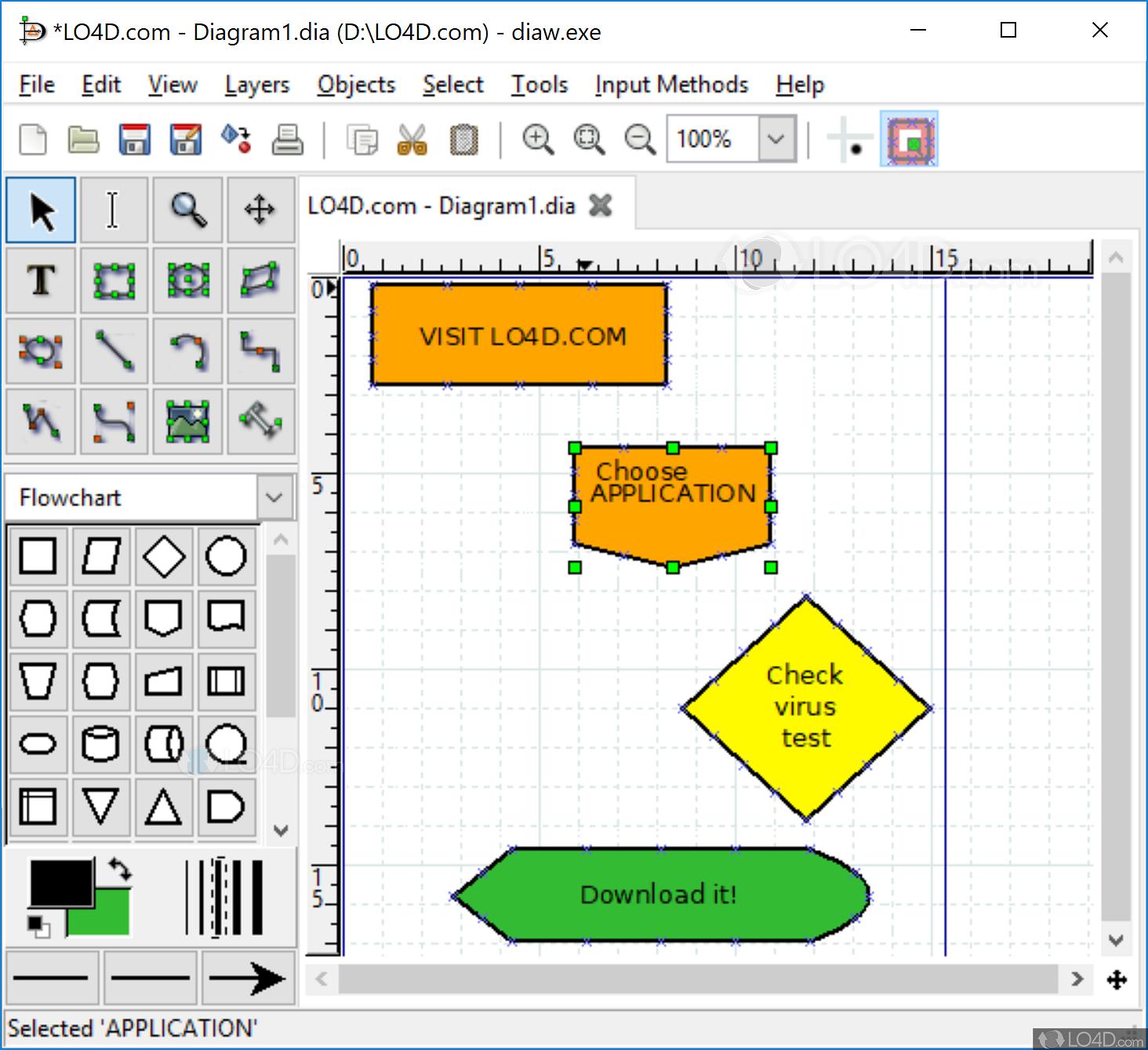 Dia Diagram Editor Download