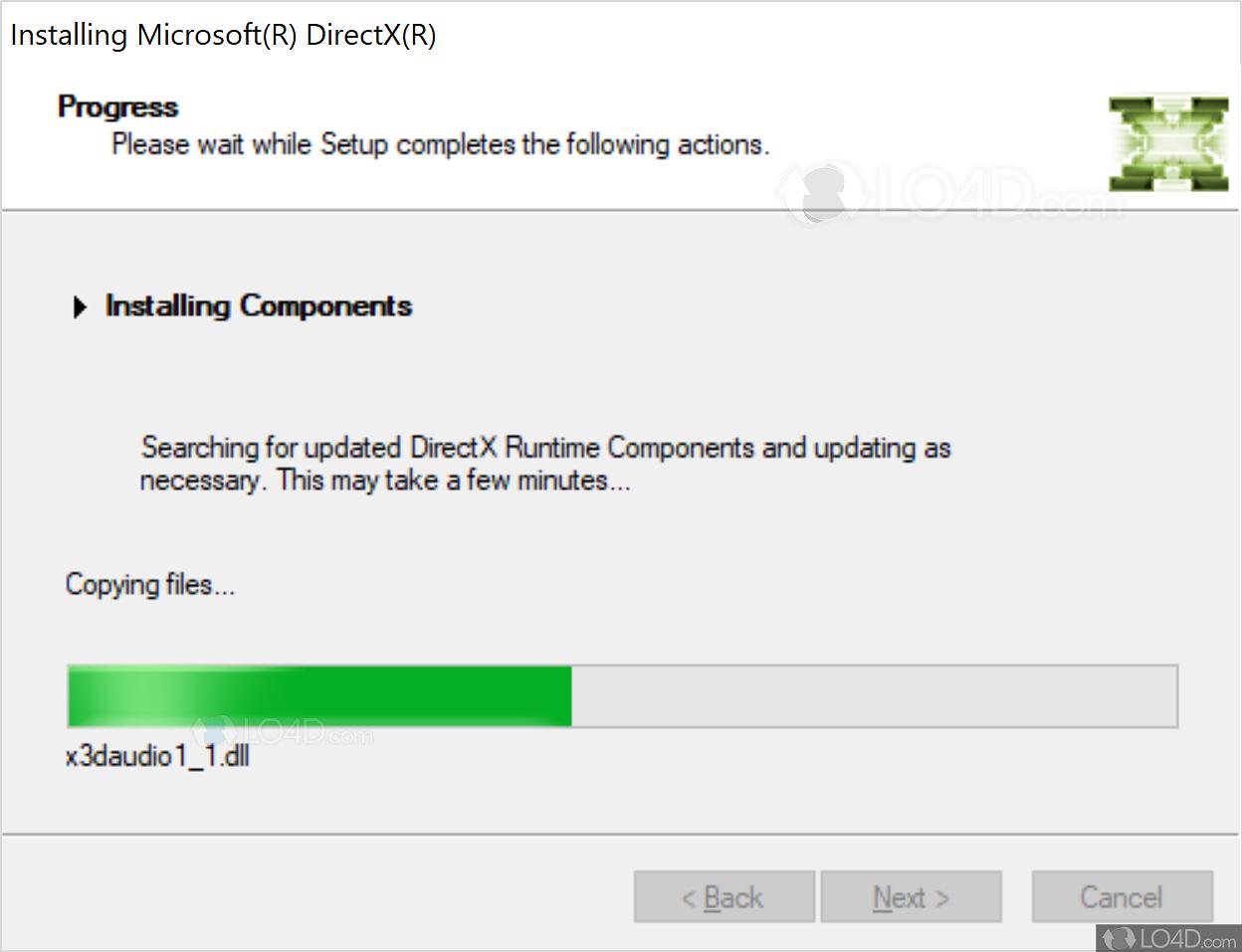directx 11 version 10.0