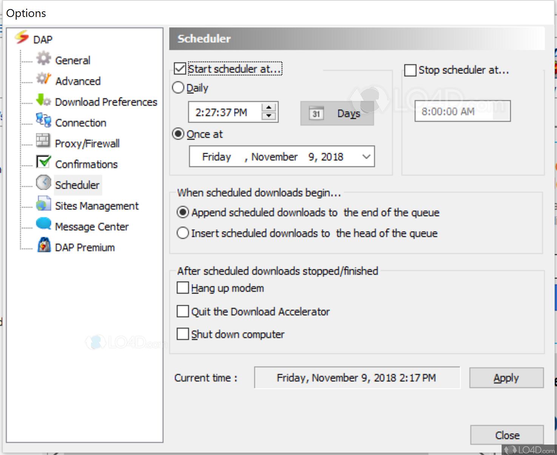 Download Accelerator Plus - Screenshots