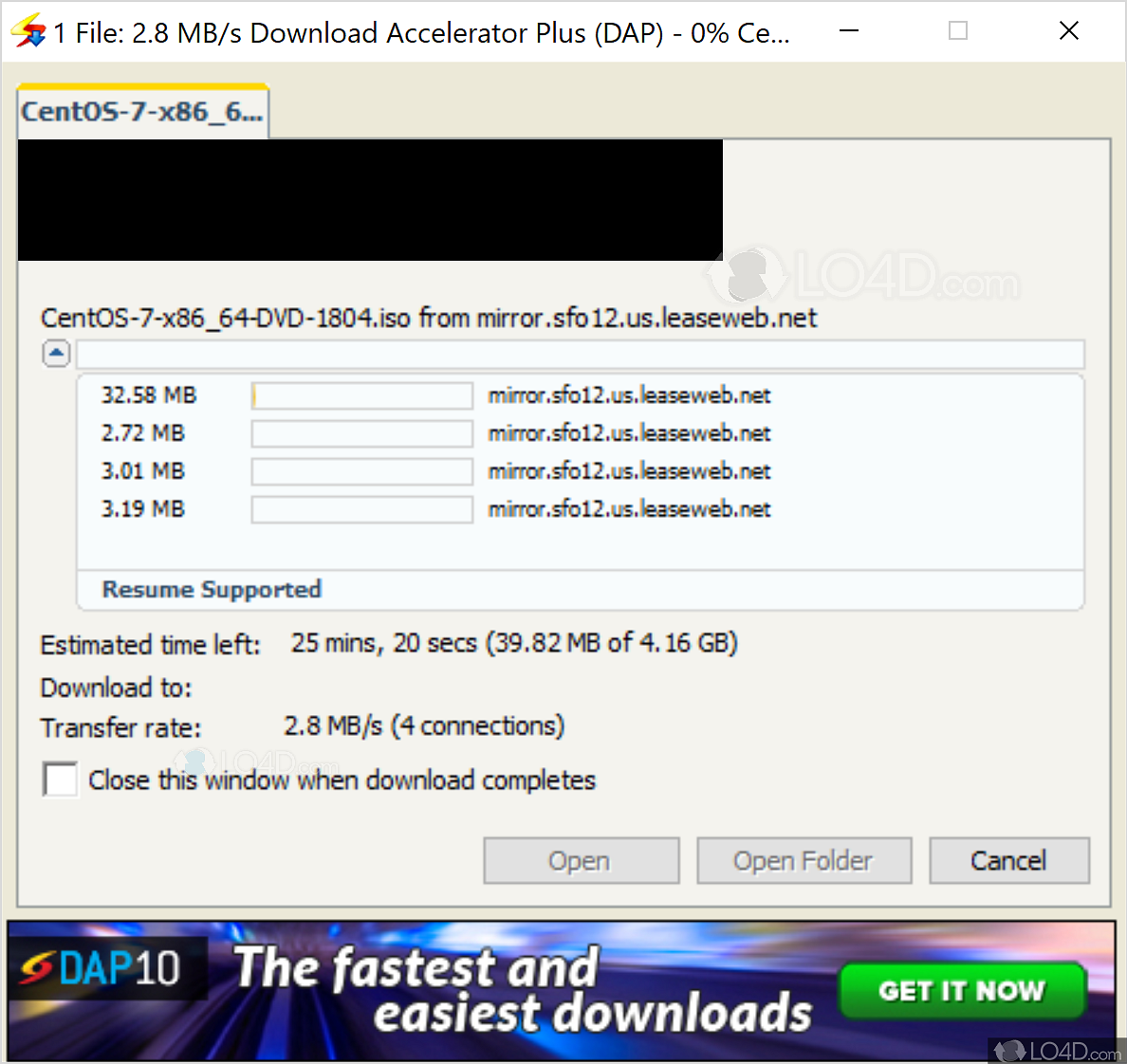 Download Accelerator Plus Chrome - LO4D com