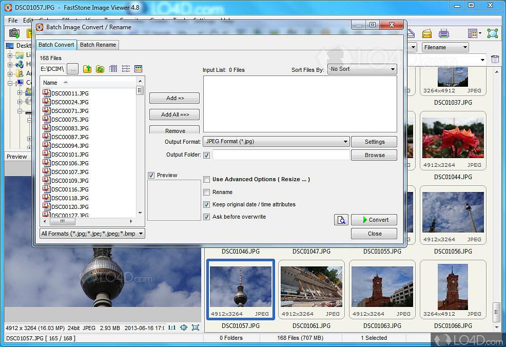 FastStone Image Viewer - Screenshots