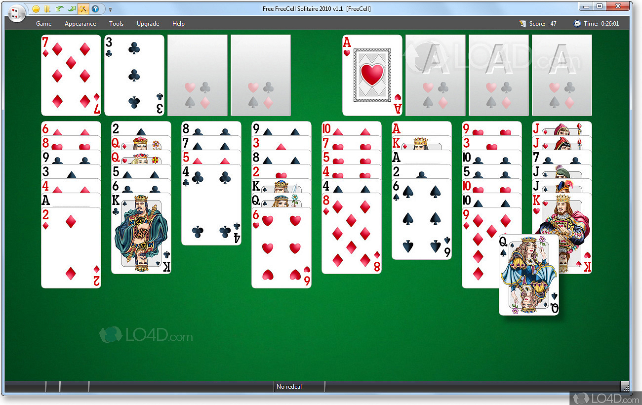 solitaire free download for windows 7 32 bit