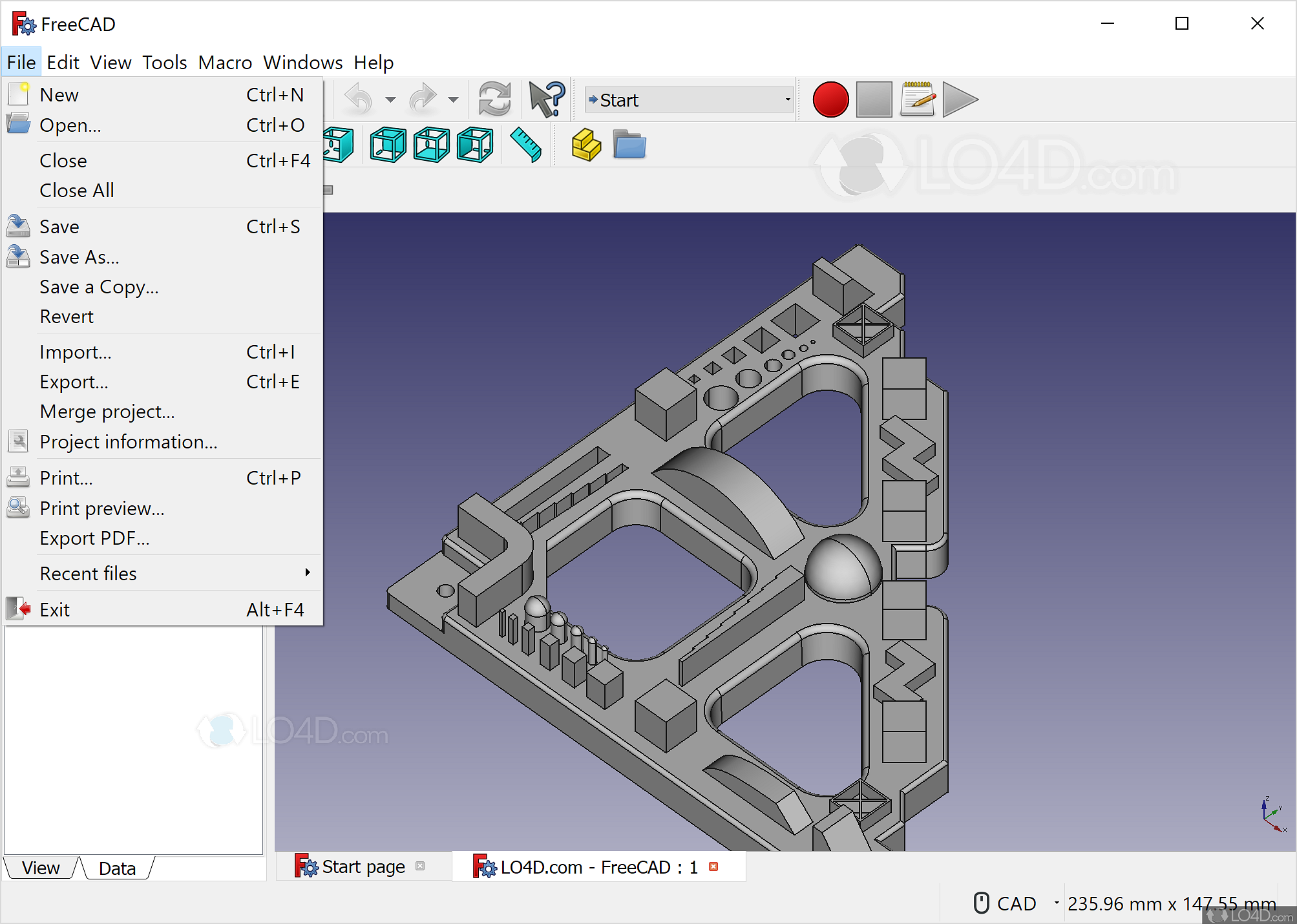 freecad windows 7