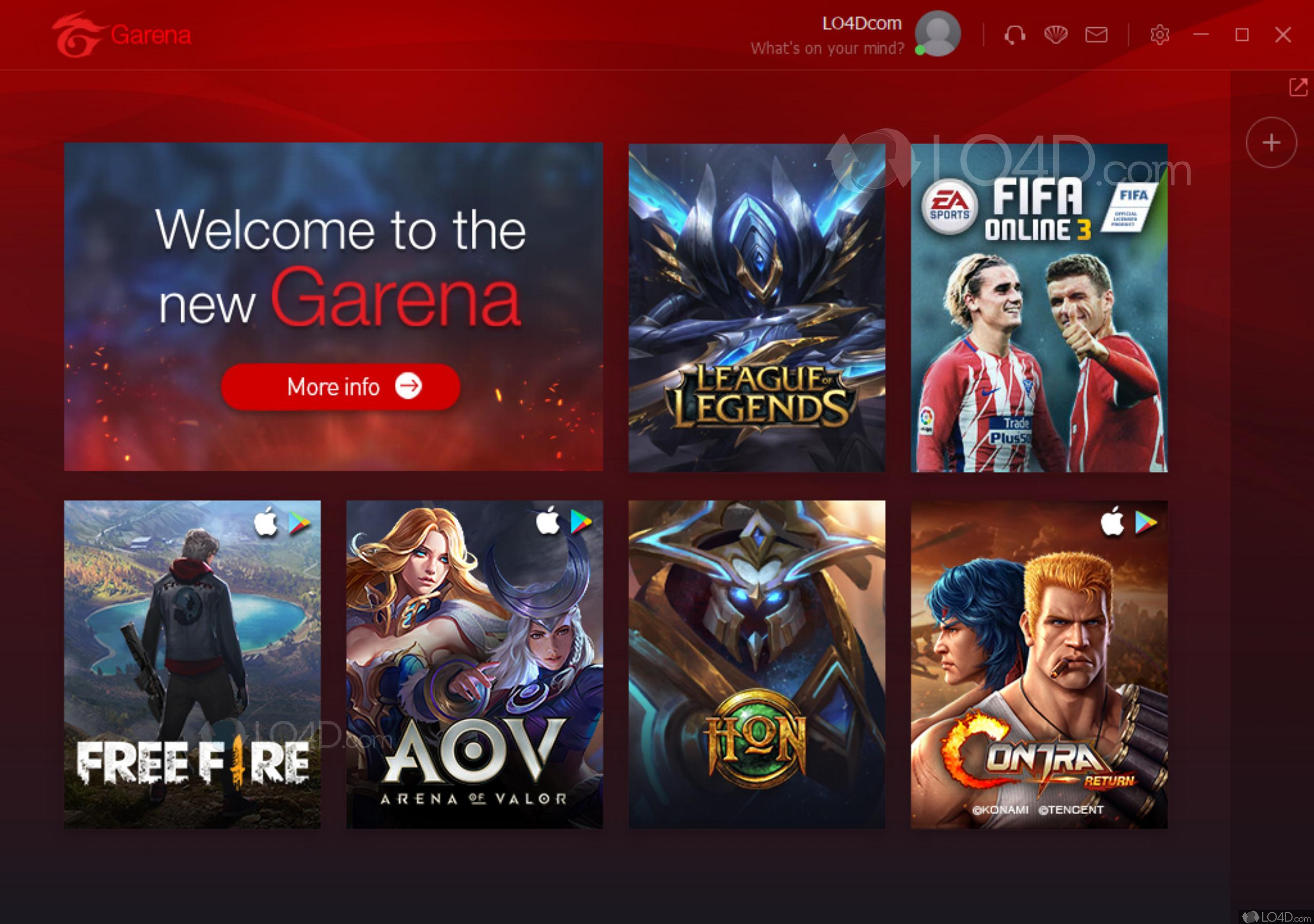 league of legends garena download size