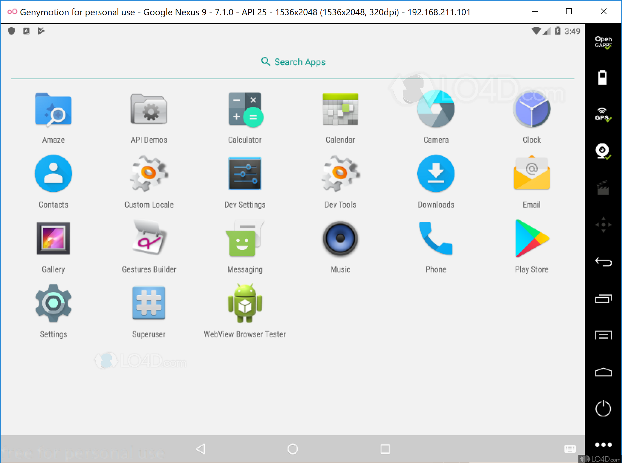 genymotion install apk from pc