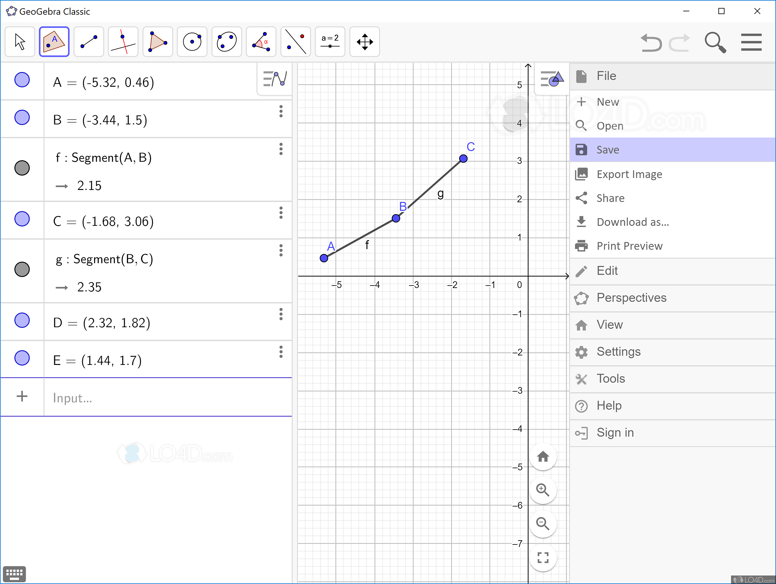 geogebra windows 7 64 bits