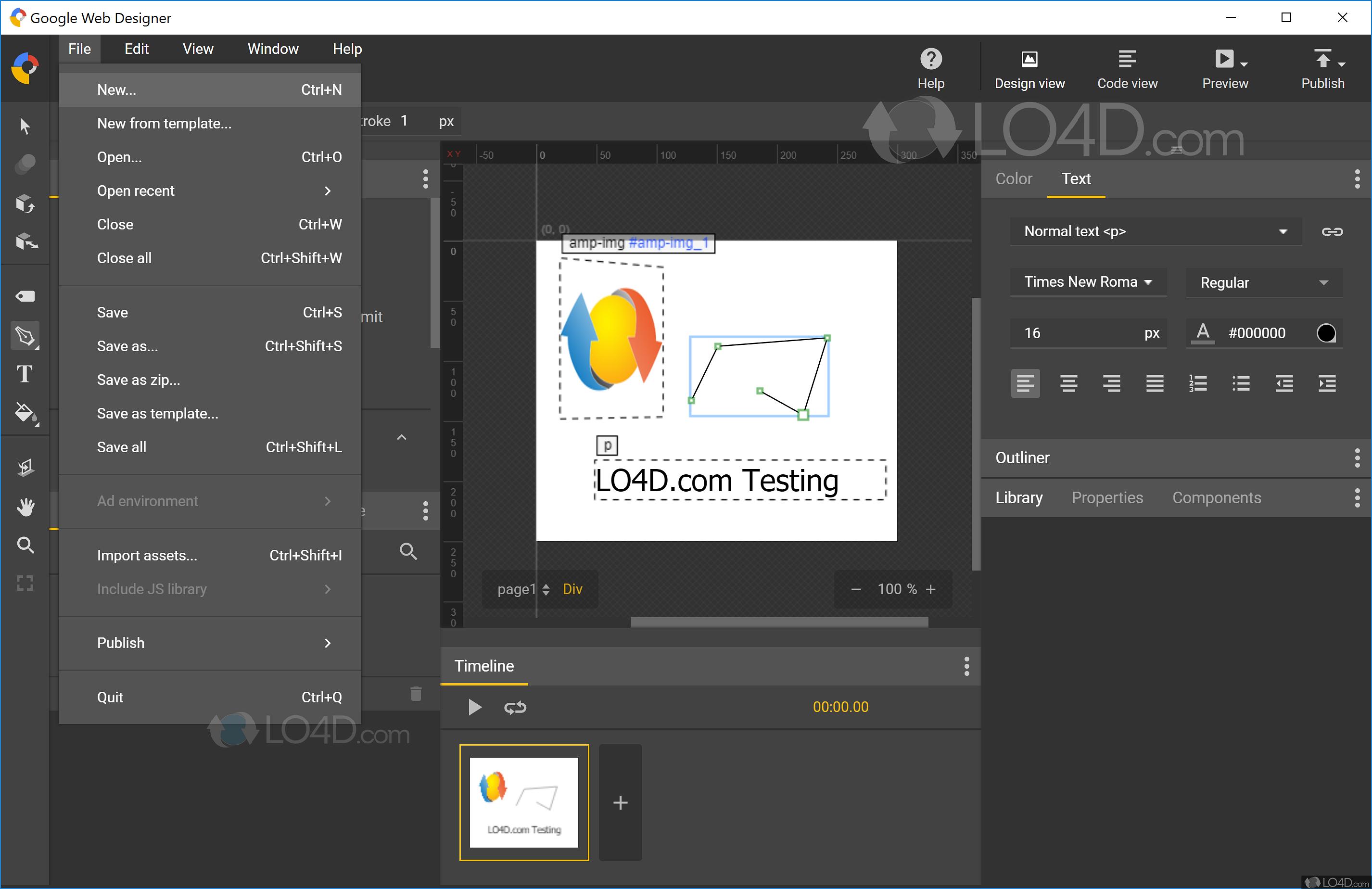 Google Web Designer - Download