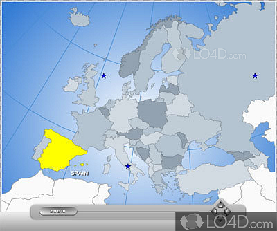 Interactive Flash Map Of Europe Download