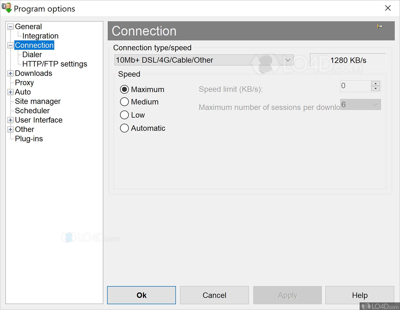 Internet Download Accelerator - Screenshots