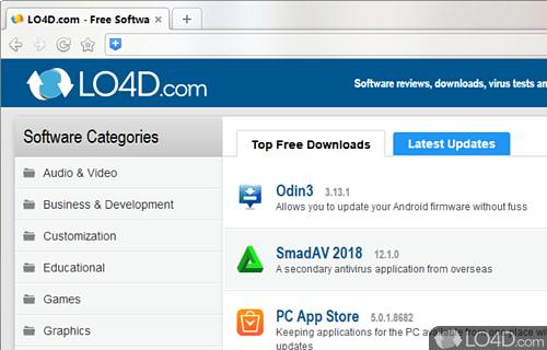 360 Browser Screenshot