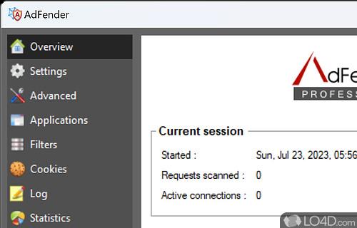 AdFender Screenshot