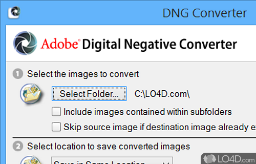 Adobe DNG Converter - Download