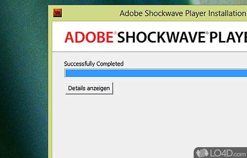 Adobe Shockwave Player Screenshot